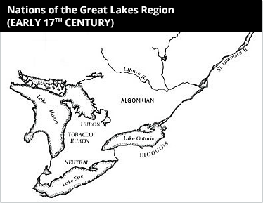 huron and iroquois relationship with nature