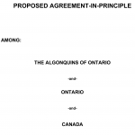 Proposed Agreement-in-Principle